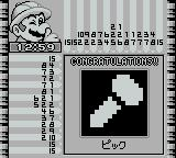 Picross 2 Game Boy It's a nail!