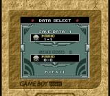 Picross 2 Game Boy File select (Super Game Boy)