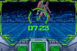 Zone of the Enders: The Fist of Mars Game Boy Advance Aiming at an enemy - try to hit the red spot for a critical hit