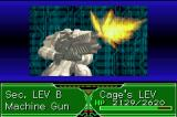 Zone of the Enders: The Fist of Mars Game Boy Advance Attacking with a long range weapon