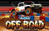 Ivan 'Ironman' Stewart's Super Off Road Lynx Title screen