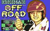 Ivan 'Ironman' Stewart's Super Off Road Commodore 64 Title screen
