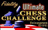 The Fidelity Ultimate Chess Challenge Lynx Title screen