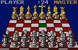 The Fidelity Ultimate Chess Challenge Lynx Beginning a game, 3D view.