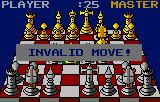 The Fidelity Ultimate Chess Challenge Lynx I tried to make an illegal move
