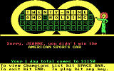Wheel of Fortune DOS After losing the Bonus Round!