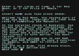 "Time and Magik: The Trilogy Atari 8-bit The beginning of ""Red Moon"""