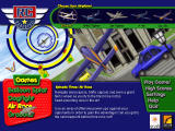 RC Daredevil Windows Main menu screen showcasing the Air Race stage