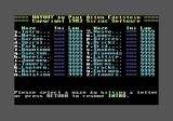 Wayout Commodore 64 Level selection