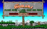 The Humans Amiga Code entry