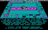 Monopoly DOS CGA Copyright Screen