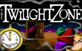 The Twilight Zone Amiga Title screen