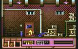 Beverly Hills Cop Commodore 64 Thug is killed by fire