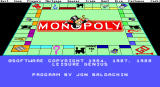 Monopoly DOS EGA 2nd Copyright Screen