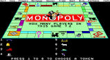 Monopoly DOS EGA Choosing your tokens and names