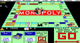 Monopoly DOS EGA Starting the game