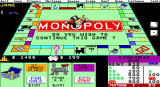Monopoly DOS EGA Landing on a property