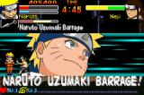 Naruto: Ninja Council Game Boy Advance Naruto preparing to use Uzumaki Barrage...