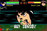 Naruto: Ninja Council Game Boy Advance Rock Lee summoning Guy sensei to restore his health