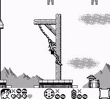 Lucky Luke Game Boy On the rope...