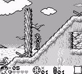 Lucky Luke Game Boy The prairie is full of perilous obstacles and inhabitants...