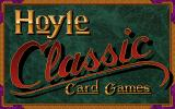 Hoyle Classic Card Games DOS Title screen.