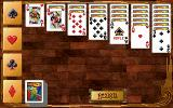 Hoyle Classic Card Games DOS Solitaire.