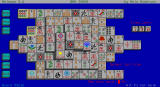 Mah Jongg Solitaire DOS Select Help to see the next available moves