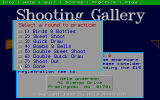 Shooting Gallery DOS You can practice all 7 rounds