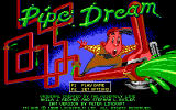 Pipe Dream DOS Opening Screen by LucasFilm Games calls this Pipe Dream