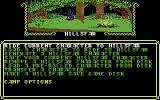 Hillsfar Commodore 64 Camp options