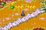 Spyro: Season of Ice Game Boy Advance That's what appears when you collect all the diamonds in a stage