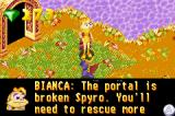 Spyro: Season of Ice Game Boy Advance Bianca says that if you want to go through certain doors you have to save more fairies