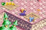 Spyro: Season of Ice Game Boy Advance Lighting candles and burning staff is another way of finding fairies