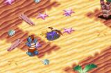 Spyro: Season of Ice Game Boy Advance Spyro charging at an enemy in Mermaid Coast