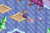Spyro: Season of Ice Game Boy Advance Using your fire breath on enemies