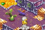 Spyro: Season of Ice Game Boy Advance You can only use your fire to kill that guy who throws eggs at you