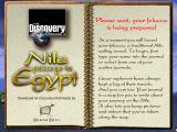 Nile: Passage to Egypt Windows 3.x Loading screen
