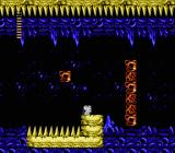 Little Samson NES Platforms in this level keep disappearing and reappearing, even though they are always present