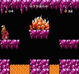 Adventure Island 3 NES The boss in the third area