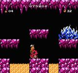 Adventure Island 3 NES When you hit bosses a lot of times they change colour and attack patterns.