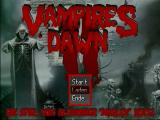Vampires Dawn 2: Ancient Blood Windows Main menu
