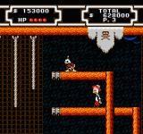 Disney's DuckTales 2 NES Τhe 2nd location where you'll find Gyro and get a power up - assuming that you don't fall down of course