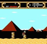 Disney's DuckTales 2 NES The pyramids outside…