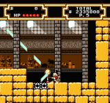 Disney's DuckTales 2 NES Using a mirror to find a hidden room…
