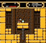 Disney's DuckTales 2 NES …and getting a secret treasure that worths 1000000