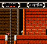 Disney's DuckTales 2 NES If you check every wall you'll find many secret paths