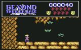 Beyond the Ice Palace Commodore 64 Your first enemy, the bat