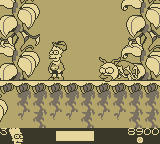 The Simpsons: Bart & the Beanstalk Game Boy Climbing up the Beanstalk