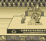 The Simpsons: Bart vs. the Juggernauts Game Boy Shove Fest